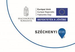 Európai Regionális Fejlesztési Alap - Széchenyi2020 logo